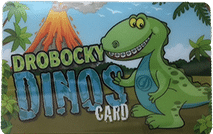Drobocky Dinos Club Card at Drobocky Orthodontics in Bowling Green Glasgow Franklin KY