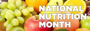 National Nutrition Month Bowling Green KY