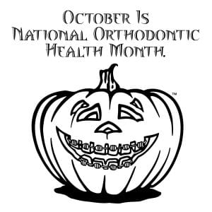 october is orthodontic health month
